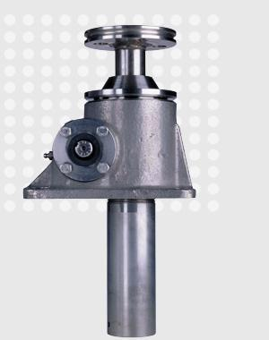 Stainless steel machine screw actuator